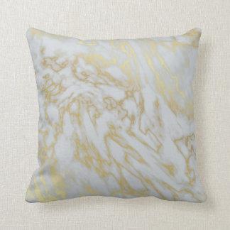 大理石模様をつけられた枕 クッション