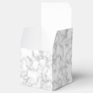 大理石模様をつけられた灰色白の大理石の石パターン背景 フェイバーボックス