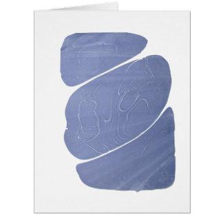 大理石模様をつけられる上品な青白の夢みるよう カード