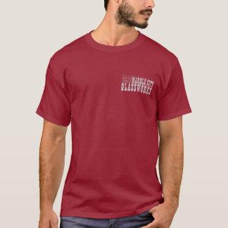 大理石都市Glassworksの打撃はTに触れません Tシャツ