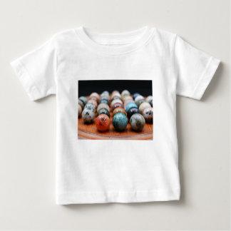大理石 ベビーTシャツ