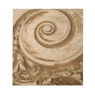 大理石、Colosseum ノートパッド