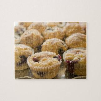 大皿のBoysenberryのマフィン ジグソーパズル