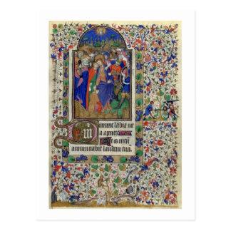 大石柱1156 f.133時間oからのJudasのキス、 ポストカード