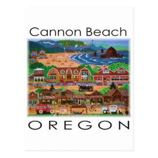 大砲のビーチの~オレゴン ポストカード