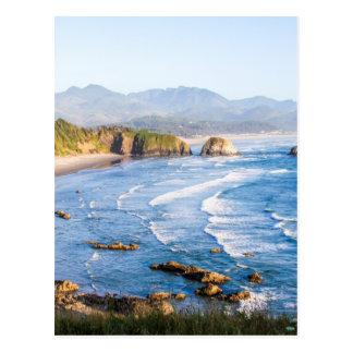 大砲のビーチオレゴン ポストカード