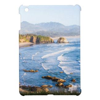 大砲のビーチオレゴン iPad MINIケース