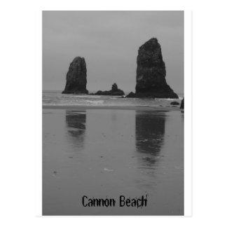 大砲のビーチ ポストカード