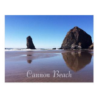 大砲のビーチ/三角波の石 ポストカード