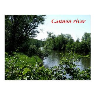 大砲の川 ポストカード