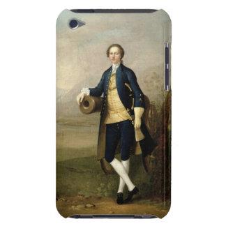 大砲を持つ紳士、1741年(キャンバスの油) Case-Mate iPod TOUCH ケース