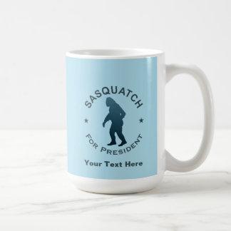 大統領のためのサスカッチ コーヒーマグカップ