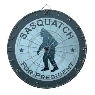 大統領のためのサスカッチ ダーツボード