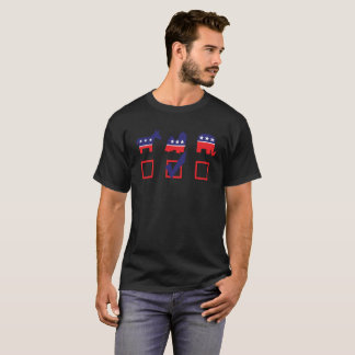 大統領のためのシーズー(犬)のTzuの恋人のTシャツの投票シーズー(犬) Tzu Tシャツ