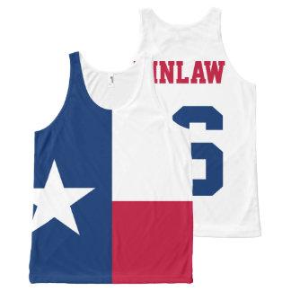 大統領のためのテキサス州FlagミハエルKinlaw 2016年 オールオーバープリントタンクトップ