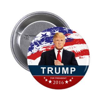 """大統領のためのドナルド・トランプ2016 2""""円形ボタン 5.7CM 丸型バッジ"""