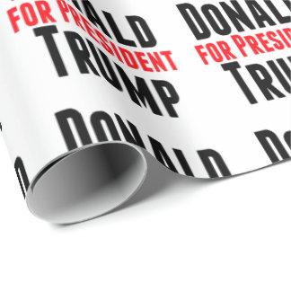 大統領のためのドナルド・トランプ 包み紙