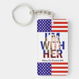 大統領のためのヒラリー・クリントン キーホルダー