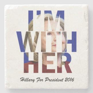 大統領のためのヒラリー・クリントン ストーンコースター
