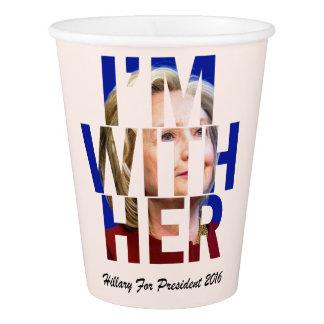 大統領のためのヒラリー・クリントン 紙コップ