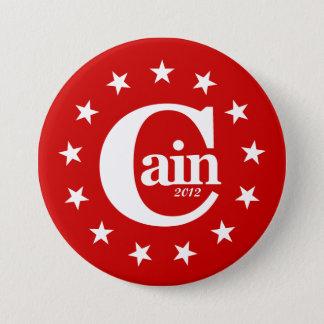 """大統領のためのヘルマンカイン2012 3""""キャンペーンボタン 7.6CM 丸型バッジ"""