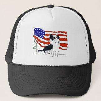 大統領のためのボーダーコリー キャップ