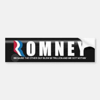 大統領のためのミット・ロムニー バンパーステッカー