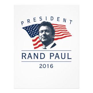 大統領のためのランドポール チラシ