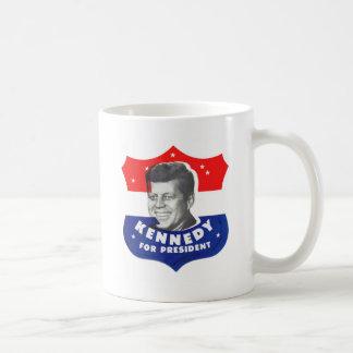 大統領のためのレトロのヴィンテージ低俗な60sケネディ コーヒーマグカップ