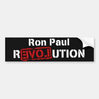 大統領のためのロン・ポールの改革のバンパーステッカー バンパーステッカー