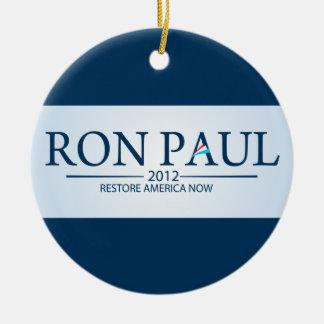 大統領のためのロン・ポール セラミックオーナメント