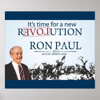 大統領のためのロン・ポール ポスター