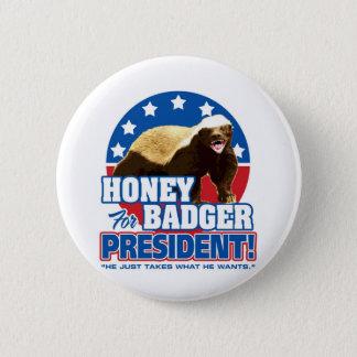 大統領のための投票ラーテル 5.7CM 丸型バッジ