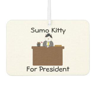 大統領のための相撲の子猫 カーエアーフレッシュナー