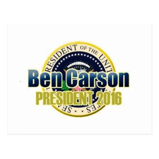 大統領のための荷車を引くなベンジャーミンカーソン ポストカード