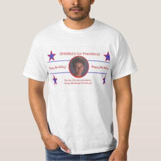 大統領のための輝き Tシャツ