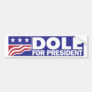 大統領のための1996年のボブ・ドール バンパーステッカー