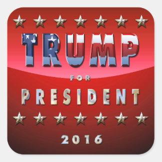 大統領のための2016年ドナルド・トランプ スクエアシール