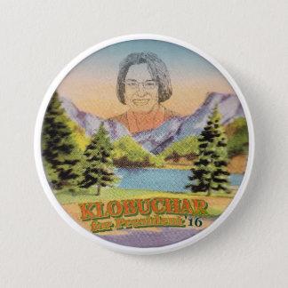 大統領のためのAmy Klobucharミネソタの上院議員 7.6cm 丸型バッジ