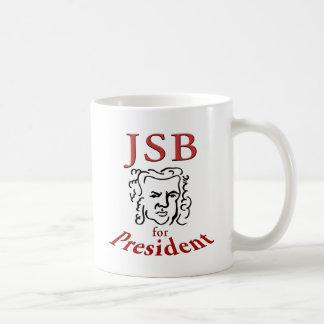 大統領のためのBach コーヒーマグカップ