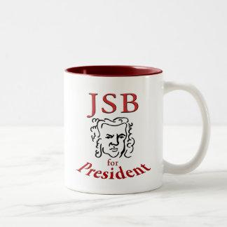 大統領のためのBach ツートーンマグカップ