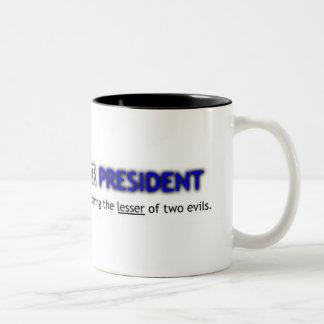 大統領のためのCthulhu ツートーンマグカップ