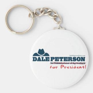 大統領のためのDaleピーターソン キーホルダー