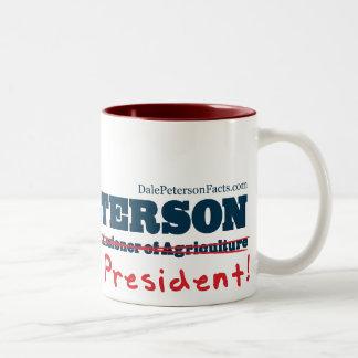 大統領のためのDaleピーターソン ツートーンマグカップ
