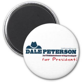 大統領のためのDaleピーターソン マグネット