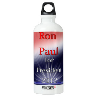 大統領のためのDulled Explosionロン・ポール ウォーターボトル