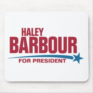 大統領のためのHaley Barbour マウスパッド
