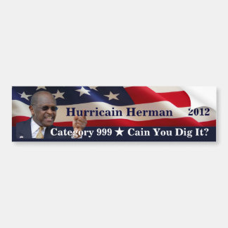 大統領のためのHurricainのハーム島 バンパーステッカー