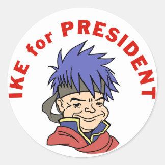 大統領のためのIke ラウンドシール