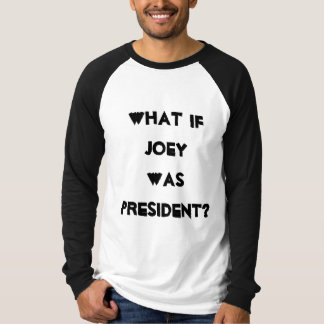 大統領のためのJoey Tシャツ